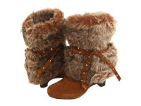 Naughty Monkey D Lux Faux Fur Boots