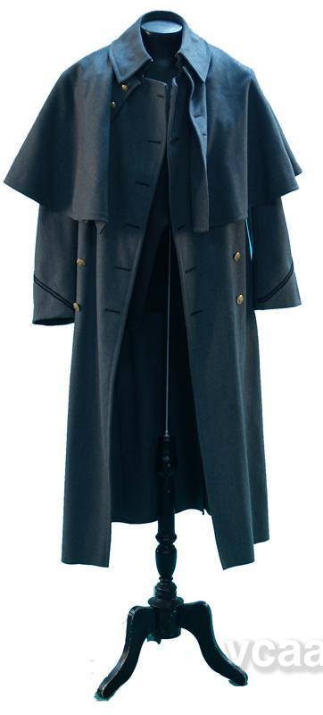 Старинное мужское военное пальто 5a5d785612f26