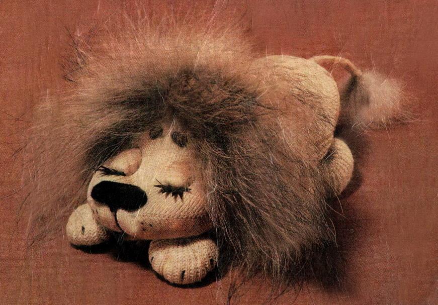 Гардеробус - Мастер-класс: игрушка своими руками. Лев