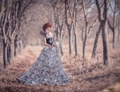 Платье из газет