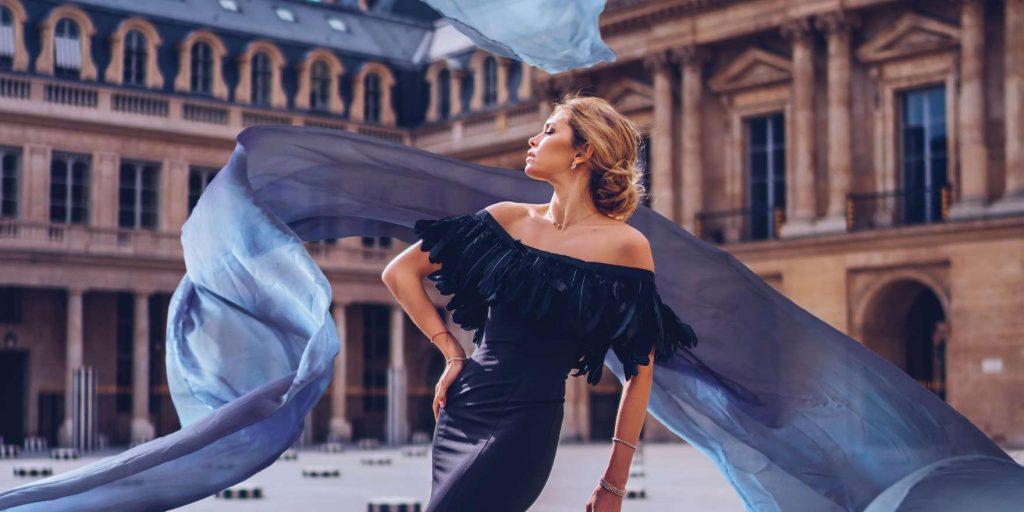 Платье Веры Брежневой