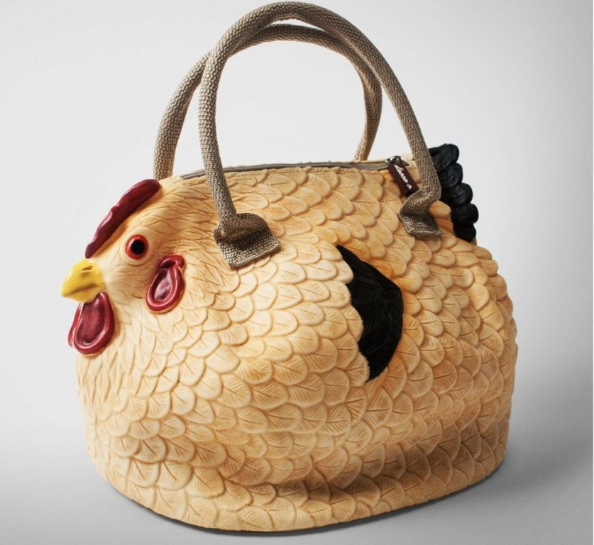 Вместительная сумка-курочка