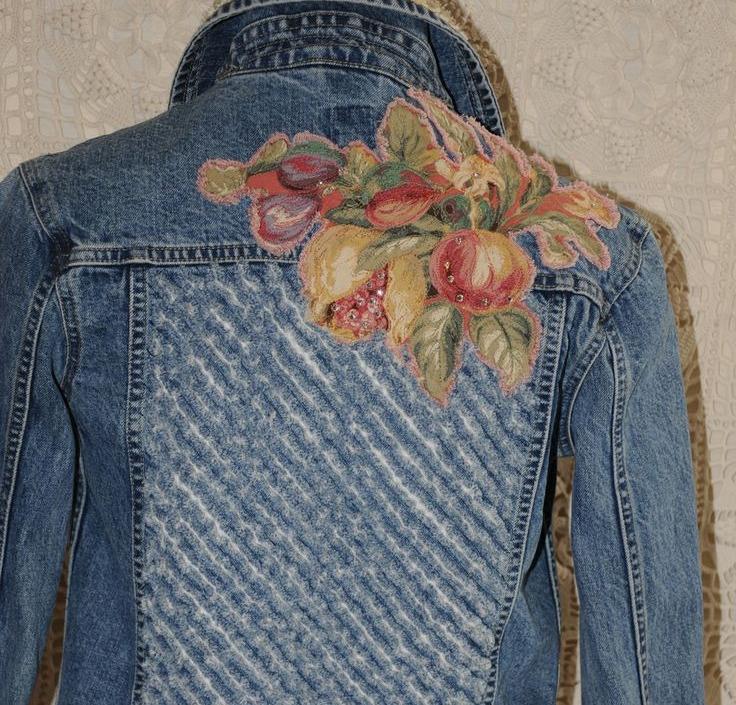 Куртка с росписью