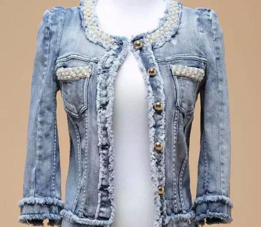 как украсить джинсовый пиджак своими руками фото студии только помогли