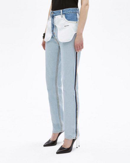 Нелепые джинсы наизнанку
