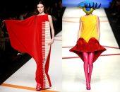 Необычные показы мод