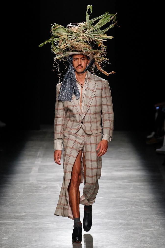 Шляпа-гнездо для мужчин