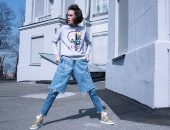 Модные джинсы-шорты