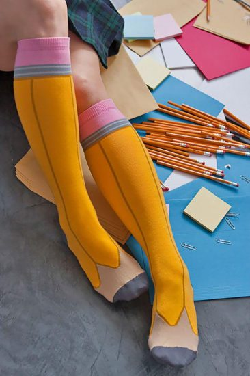 Гольфы-карандаши