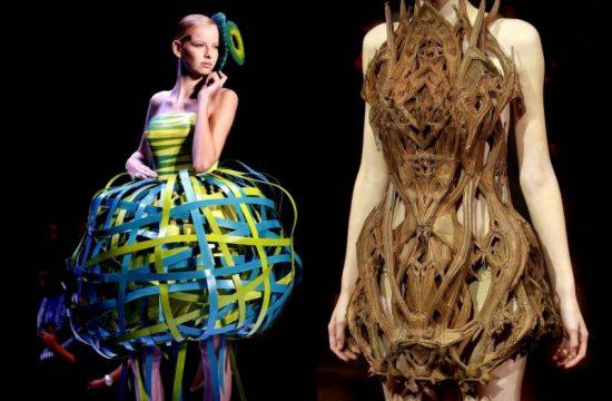 Странные дизайнерские платья