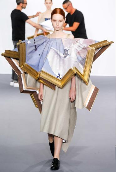 Платье-картина