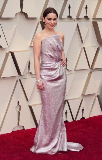 Эмилия Кларк в изящном платье на церемонии вручения премии «Оскар-2019»