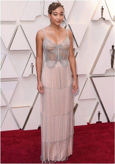 Амандла Стенберг на церемонии вручения премии «Оскар» 2019