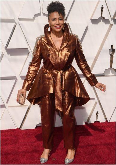 Дженифер Льюис на церемонии вручения премии «Оскар» 2019