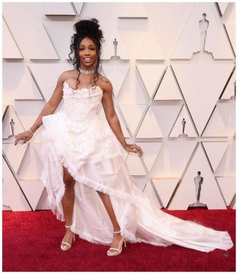Неудачный наряд певицы SZA на церемонии вручения премии «Оскар» 2019