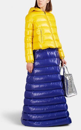 Жёлто-синий комплект верхней одежды