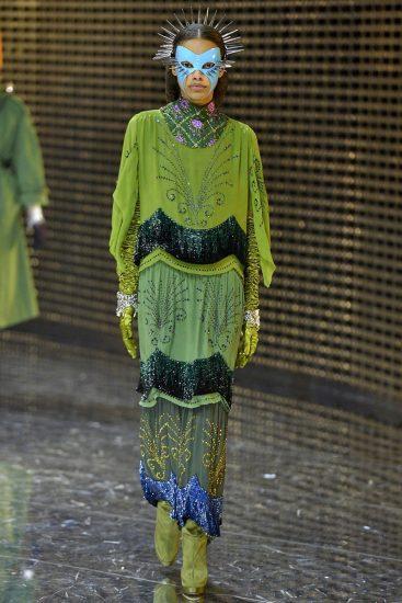 Образ Gucci на миланской неделе моды 2019