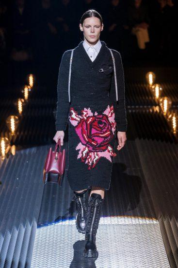 Образ бренда Prada на миланской неделе моды 2019