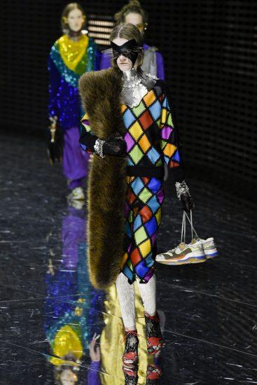 Образ бренда Gucci на миланской неделе моды 2019