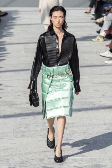 Образ Bottega Veneta на миланской неделе моды 2019