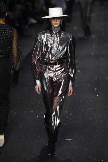 Образ Alberta Ferretti на миланской неделе моды 2019