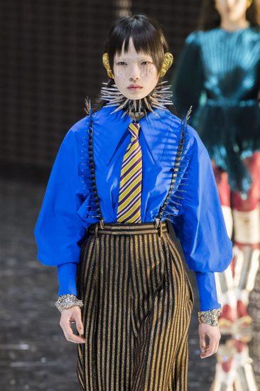 Образ марки Gucci на миланской неделе моды 2019