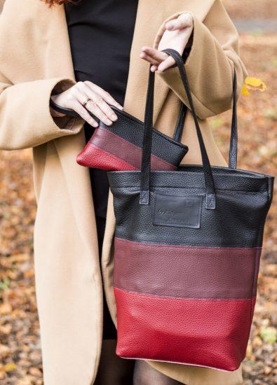 Комплект из косметички и сумки