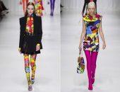 Яркие образы на модном показе