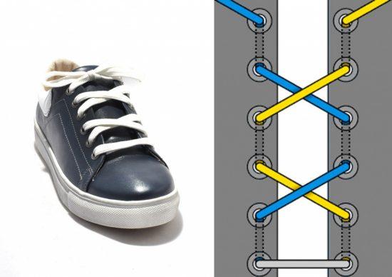 Оригинальный способ завязать шнурки