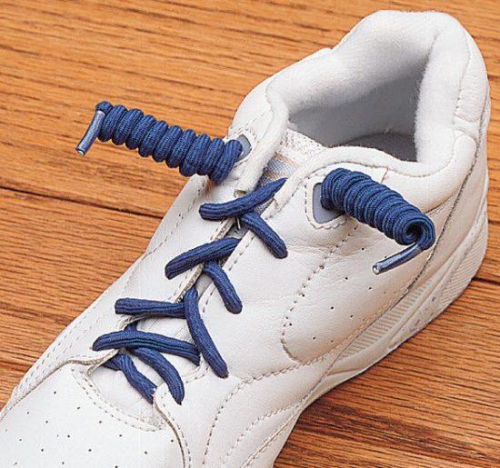 Необычные спиральные шнурки