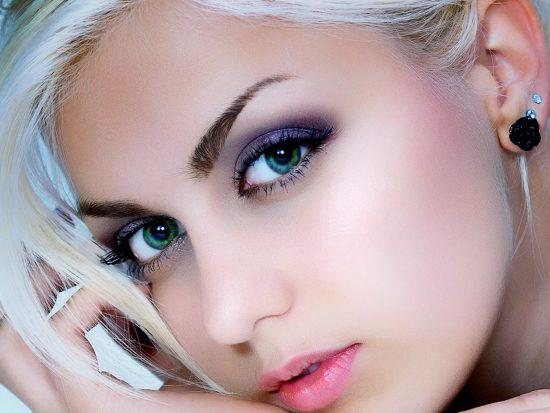 Вечерний макияж для девушки