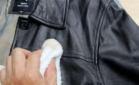 покрасить кожаную куртку в домашних условиях