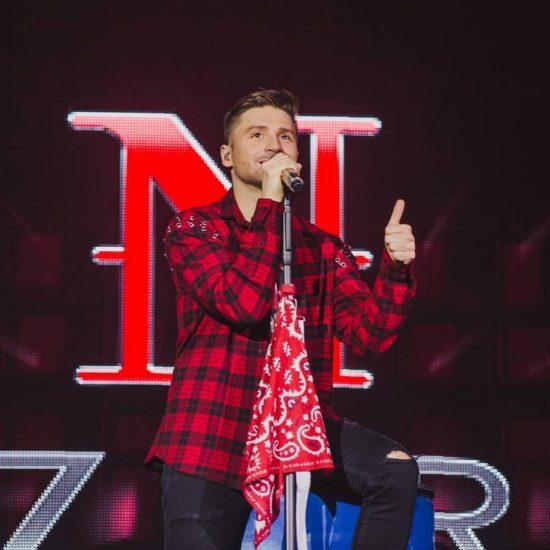 Сергей Лазарев в рубашке