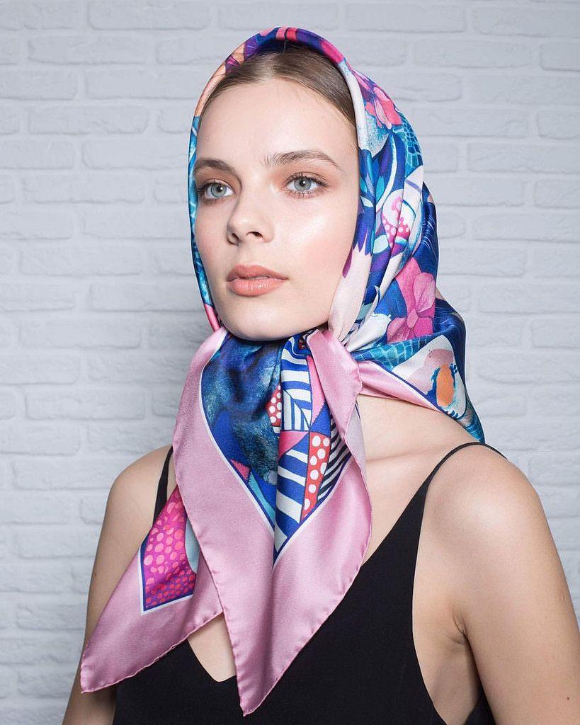 картинки платок на голове красиво завязан могут