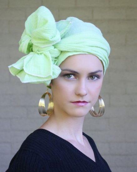 Зелёный платок