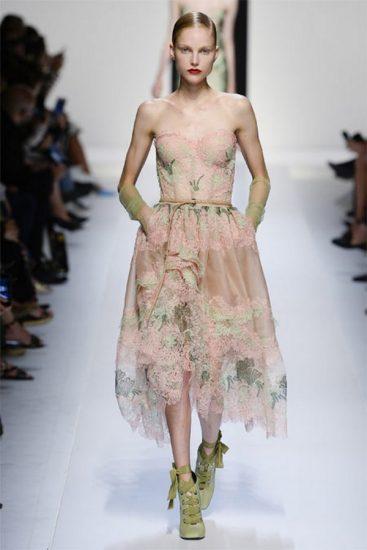 Платье пастельных тонов