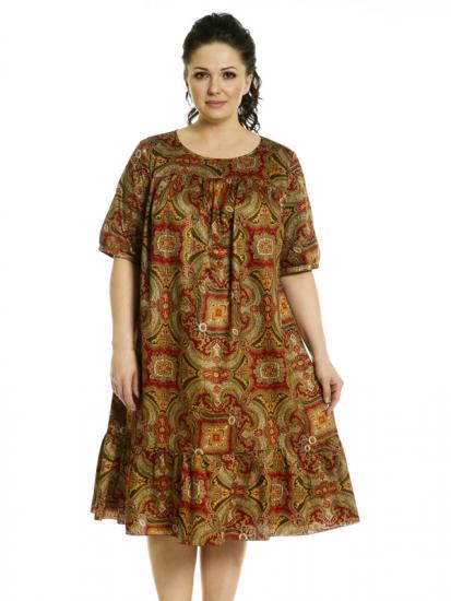 Платье свободного фасона
