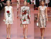 Платья на модном показе
