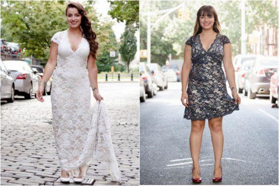 как из старого свадебного платья сделать новое