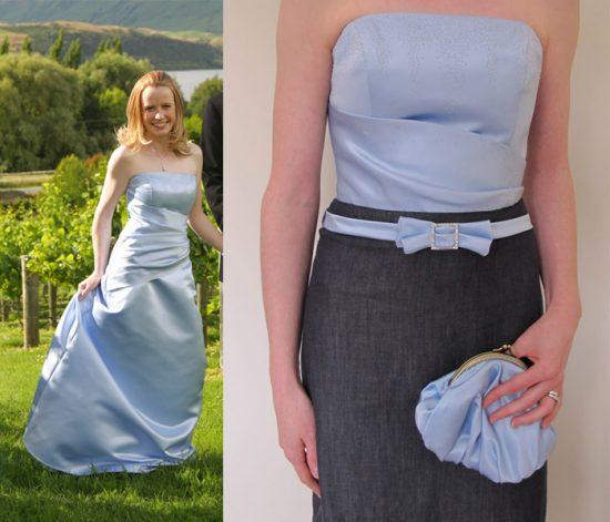 как из старого платья сделать новое