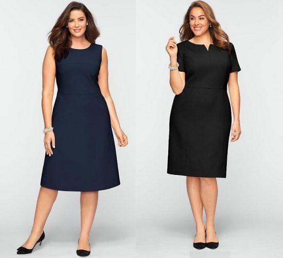 Две модели платьев