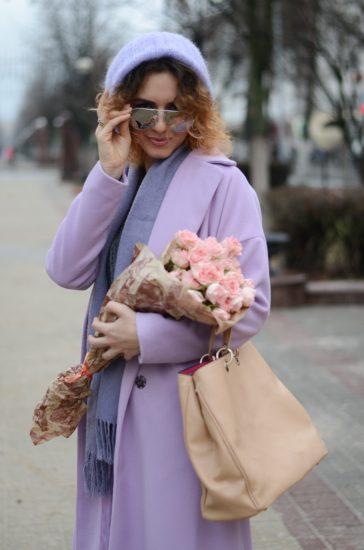 Одежда в пудровом цвете