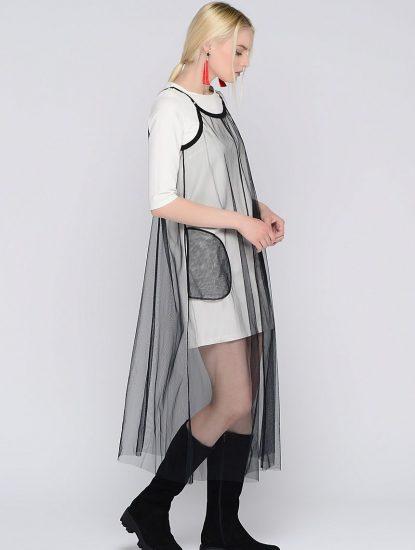 Двойное платье с чехлом