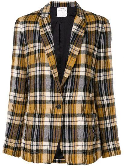 Клетчатый яркий пиджак