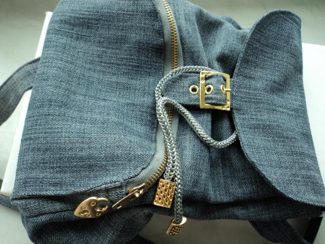 5de36ada75a5 Рюкзак из старых джинсов своими руками: мастер-класс