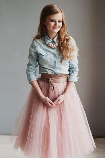 с чем носить юбку пачку