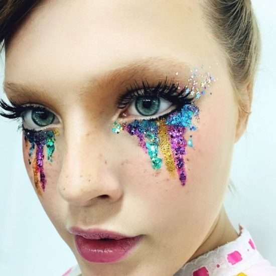 самый необычный макияж