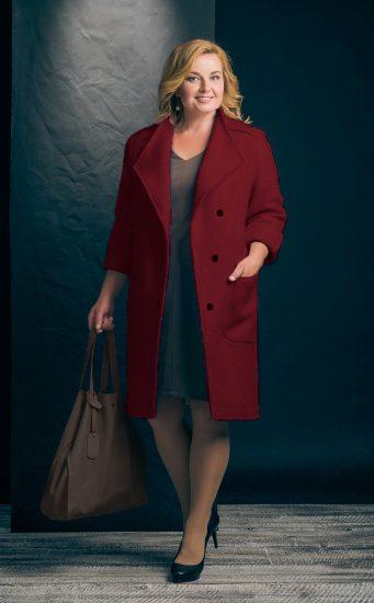 Стильный образ с пальто
