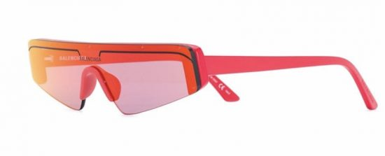 Розовые стильные очки