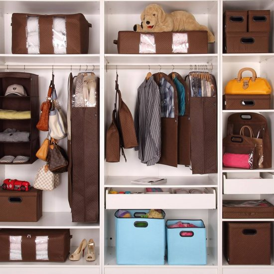 Организация хранения в гардеробе